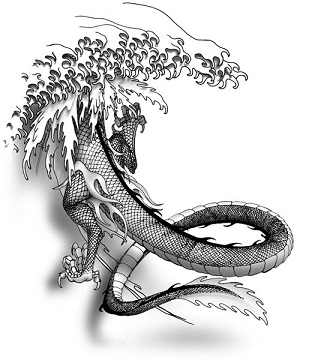 chinese dragon 5 claw back